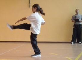 dzieci kung fu