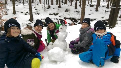 zimowy obóz kung fu dzieci